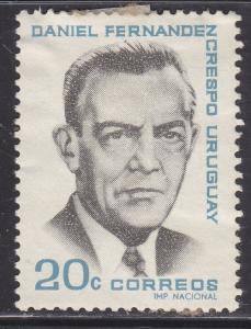Uruguay 731 Daniel Fernandez Crespo 1966