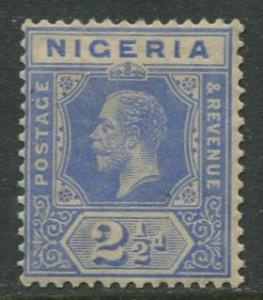 Nigeria -Scott 24 - KGV Definitive - 1921 - MVLH - Single 2.1/2p Stamp