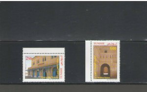 TUNISIA : Sc. 1547-48 / **GATES OF MEDINA & TEZOUR**/ SET OF 2  / MNH