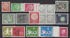 GERMANY ^^^^sc# 702/795    MNH ++collection  $$@ lar1661ge611