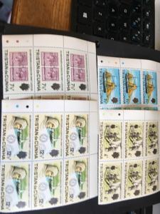 Tristan da Cunha 2015 Scott #153-6 Mint Fresh & VF-NH 1971 UL Traffic Light Blks