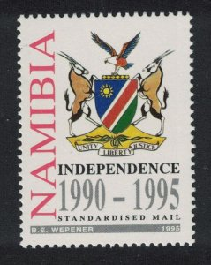 Namibia Fifth Anniversary of Independence SG#662