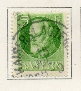 Bayern Bavaria 1914-18 Early Issue Fine Used 5pf. NW-120710