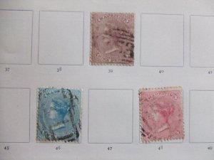 Mauritius QV SG 47, 48, 51