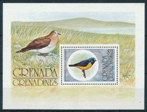 [108811] Grenada Grenadines 1976 Birds vögel Blue-hooded Euophonia Sheet MNH