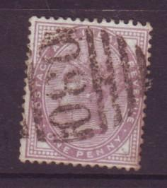 J19314 Jlstamps 1881 14 dots great britain used #88 queen