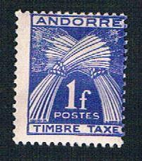French Andorra J33 MLH Postage Due overprint (BP8230)