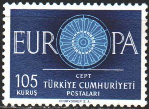 Turkey. 1960. 1775 from the series. Europa Sept. MVLH.