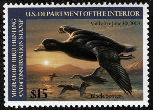 US Sc RW69 Federal Duck MNH Original Gum