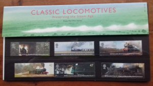 Great Britain 2004 Classic Locomotives Mint