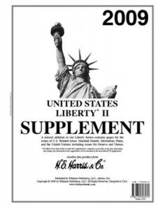 H E Harris Liberty 2 Supplement for U.N., U.S. Territories issued in 2009