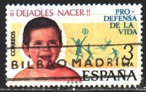 Spain. 1975. 2175. Happy childhood, sports. USED.