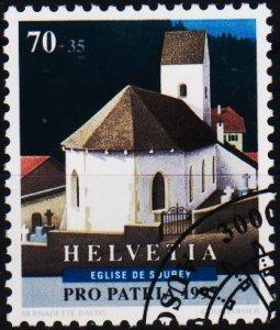 Switzerland. 1997 70c+35c. S.G.1353  Fine Used