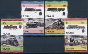[63579] Tuvalu 1984 Railway Train Eisenbahn Chemin de Fer  MNH