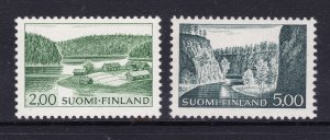 Finland a pair of decent cv items MH from 1964