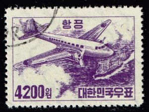 KOREA STAMP  1952 AIR MAIL STAMP OG 4,200 WON