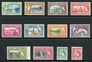 Trinidad and Tobago SG267/78a 1953 Set Fresh M/M