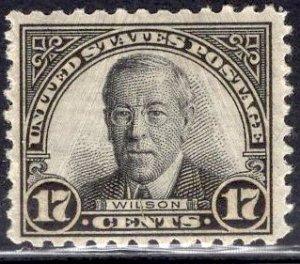 US Stamp #697 17c Wilson Mint NH SCV $7.25