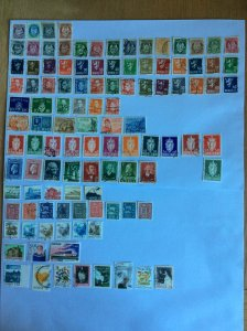 Norway 100+ stamps - Lot A