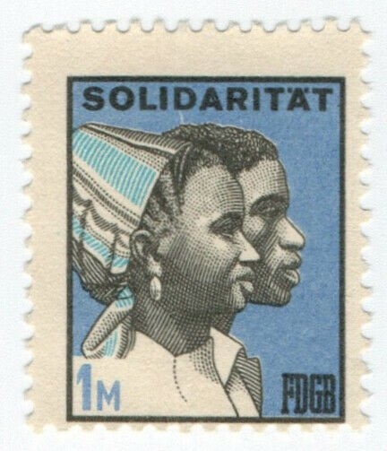 (I.B) East Germany Cinderella : FDGB Union Dues 1M (Solidarity)