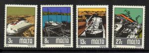 Malta 608-11 MNH - Ships