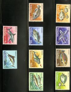 Tokelau 104-113 MNH SCV $8.45
