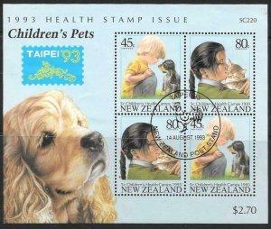 NEW ZEALAND SGMS1744 1993 TAIPEI 93 FINE USED