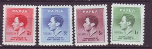 J21778 Jlstamps 1937 png set mnh #118-21 king