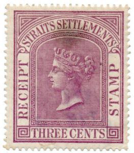 (I.B) Malaya (Straits Settlements) Revenue : Receipt 3c