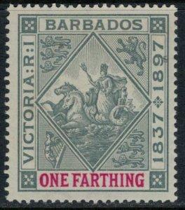 Barbados #81*  CV $10.00