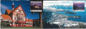 59112 - NEW ZEALAND - POSTAL HISTORY: SET of 5 MAXIMUM CARD 1995 - ARCHITECTURE
