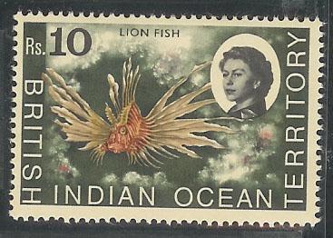 British Indian Ocean Territory 33 VF MNH