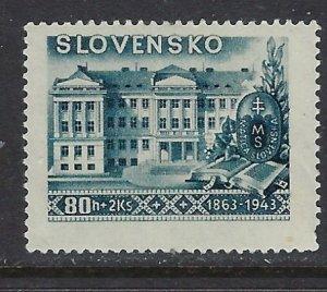 Slovakia B19 MH 1943 issue  pencil mark on back (ap6705)