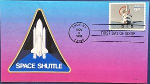 Heritage 3261 Space Shuttle Landing $3.20 Priority Mail Troy New York