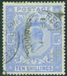 Great Britain Scott 141 KEVII  CV$525  Key 1902 Value
