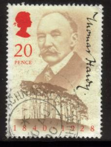 Great Britain Sc 1326 1990 Hardy Stamp used