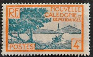 DYNAMITE Stamps: New Caledonia Scott #138 – MINT hr