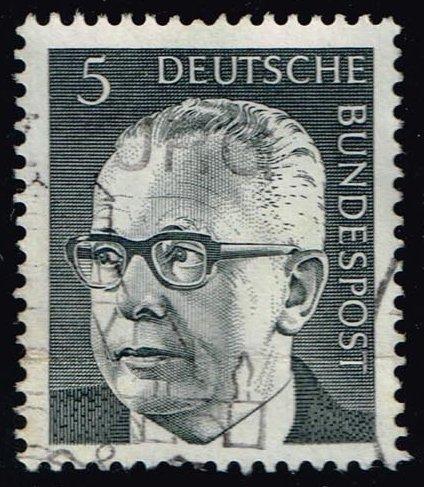 Germany #1028 Gustav Heinemann; Used (0.25)