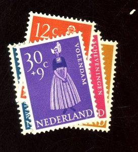 NETHERLANDS #B321-5 MINT FVF OG LH Cat $16