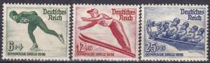 Germany #B79-81 MNH CV $55.00