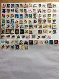 USA 100 stamps - Lot G