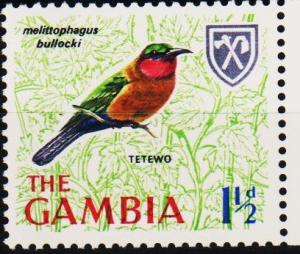 Gambia. 1966 1 1/2d S.G.235 Unmounted Mint