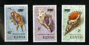 KENYA 53-55 MNH SCV $26.00