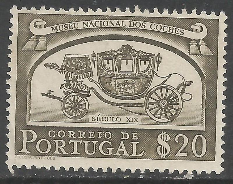 PORTUGAL 740 VFU COACH Z4043