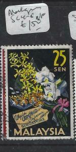 MALAYSIA   (P1404BB)  FLOWERS  SG 4-5   VFU