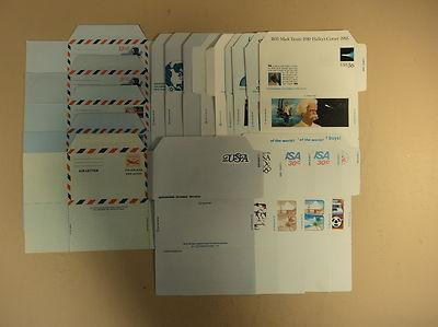 USPS Scott Air Post Stamped Envelopes Air Letter Sheets L...