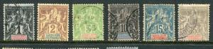 Guadeloupe #27,28,31,32,34,35 Used Accepting Best Offer