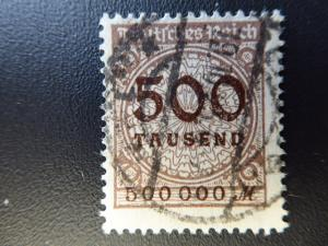 Germany 1923  Sc.#280  CV $2.75 used