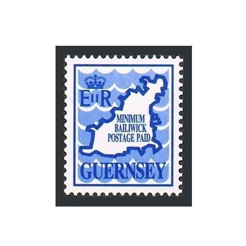Guernsey 431,MNH.Michel 482. Waves.Map.MINIMUM TO UK PAID