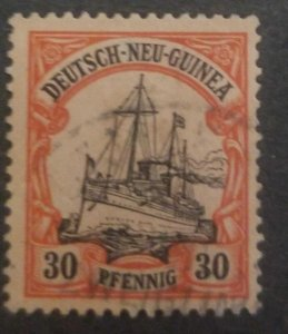 O) 1901 GERMAN NEW GUINEA, OCCUPIED BY AUSTRALIAN TROOPS DURING WORLD  WAR I AND
